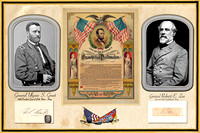 Grant & Lee Emancipation Proclamation