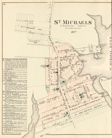 p16 StMichaels and Business Directory with date